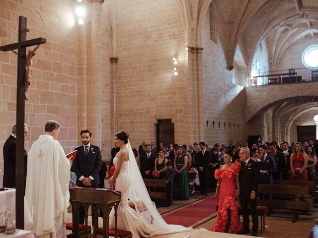 La boda de Ricardo y Eva en Santa Gadea Del Cid, Burgos 56