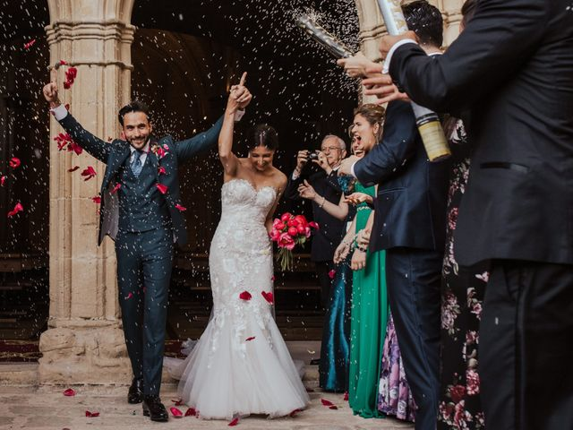 La boda de Ricardo y Eva en Santa Gadea Del Cid, Burgos 65