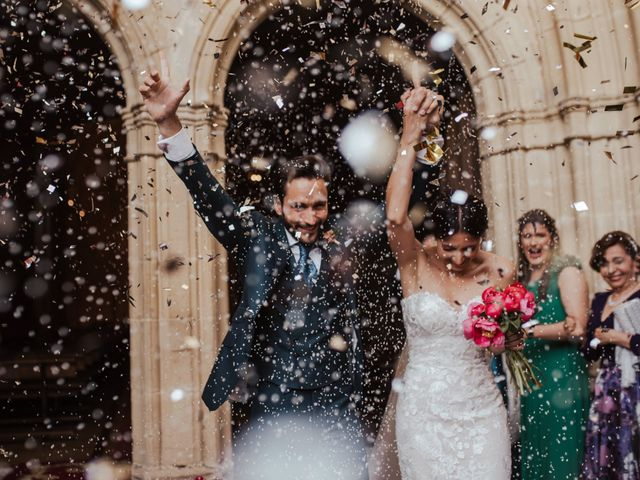 La boda de Ricardo y Eva en Santa Gadea Del Cid, Burgos 66