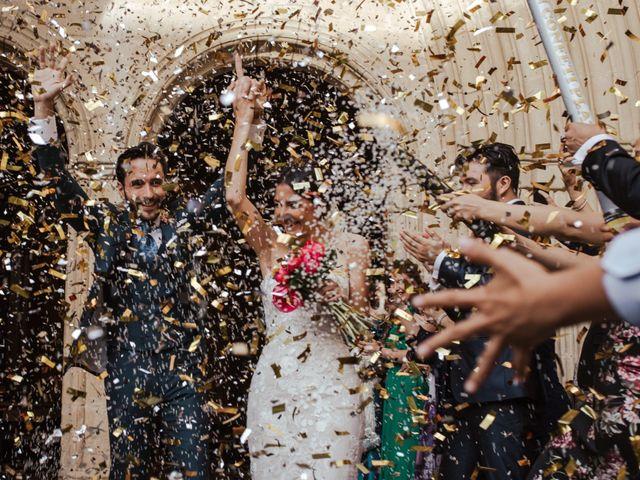 La boda de Ricardo y Eva en Santa Gadea Del Cid, Burgos 67