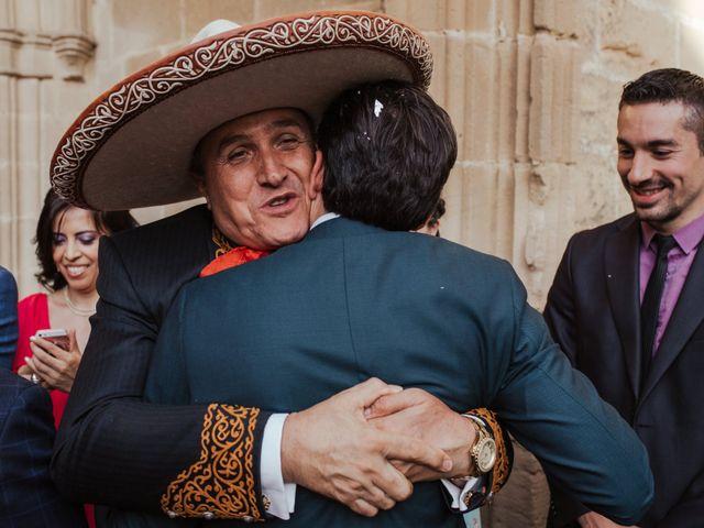 La boda de Ricardo y Eva en Santa Gadea Del Cid, Burgos 69