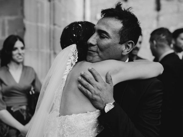 La boda de Ricardo y Eva en Santa Gadea Del Cid, Burgos 73