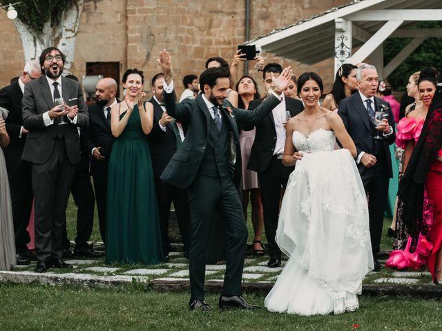 La boda de Ricardo y Eva en Santa Gadea Del Cid, Burgos 95
