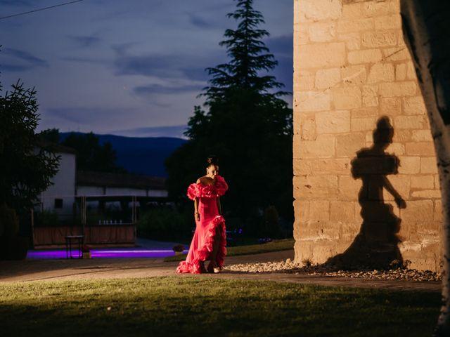 La boda de Ricardo y Eva en Santa Gadea Del Cid, Burgos 110