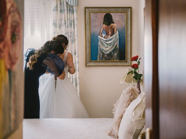 La boda de Manuel y Mar en Corte De Peleas, Badajoz 9