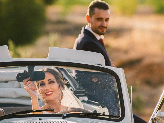 La boda de Manuel y Mar en Corte De Peleas, Badajoz 21
