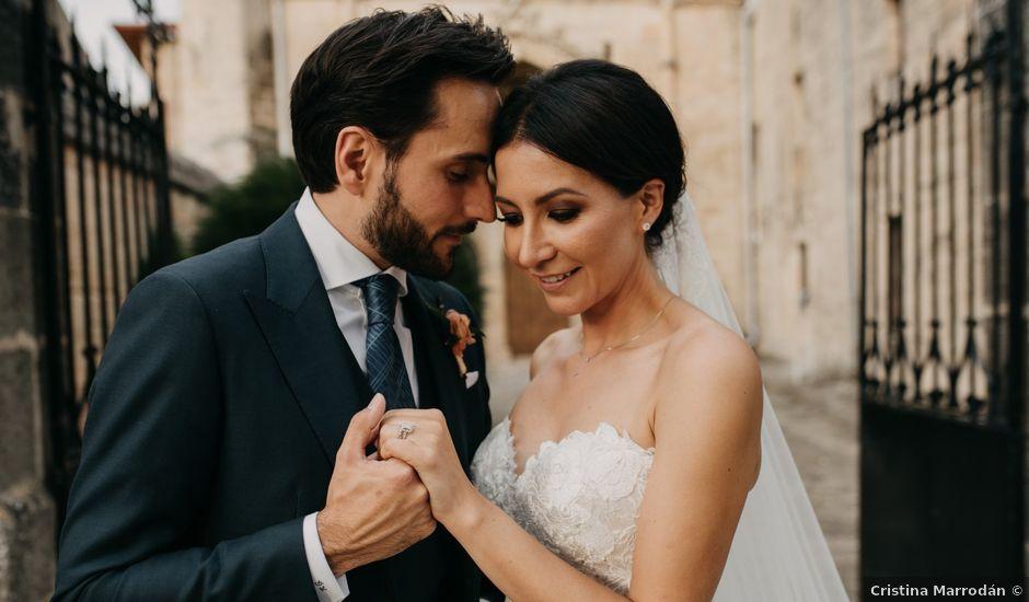 La boda de Ricardo y Eva en Santa Gadea Del Cid, Burgos