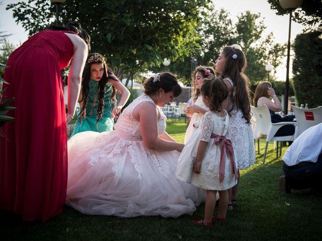 La boda de Kiko y Irene en Guadamur, Toledo 93