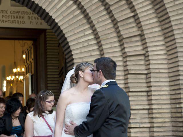 La boda de Pilar y Álvaro en Zaragoza, Zaragoza 1