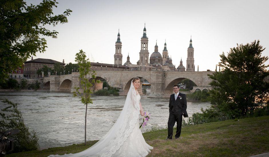La boda de Pilar y Álvaro en Zaragoza, Zaragoza