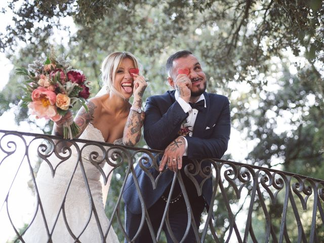La boda de Sheila y Agus en Caldes De Montbui, Barcelona 1