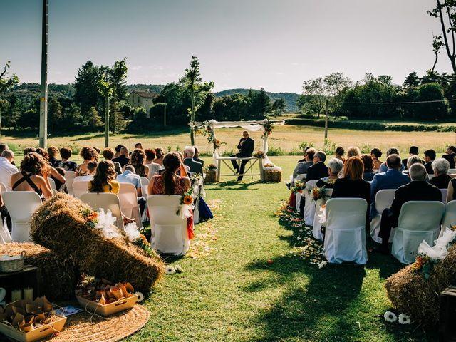 La boda de Dani y Alba en Sant Quirze Safaja, Barcelona 25
