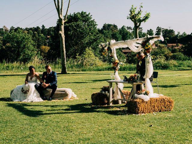 La boda de Dani y Alba en Sant Quirze Safaja, Barcelona 26