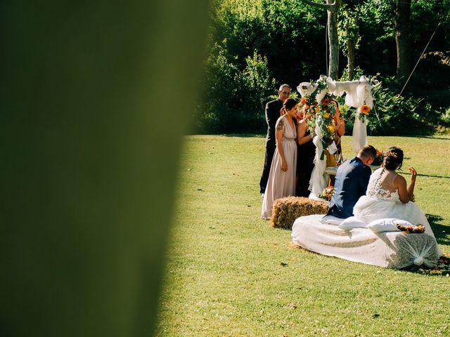La boda de Dani y Alba en Sant Quirze Safaja, Barcelona 27