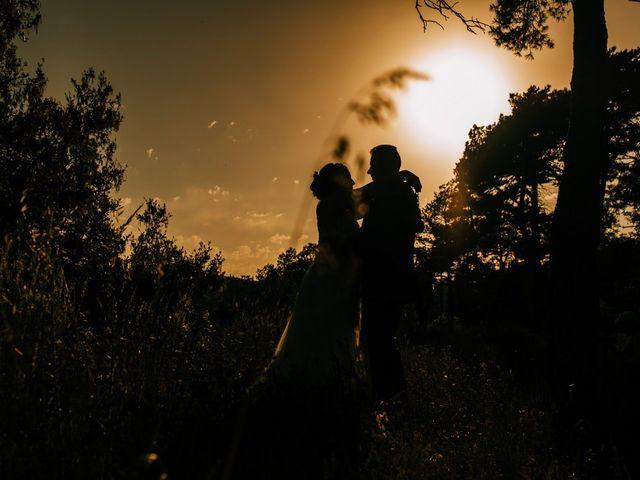 La boda de Dani y Alba en Sant Quirze Safaja, Barcelona 32
