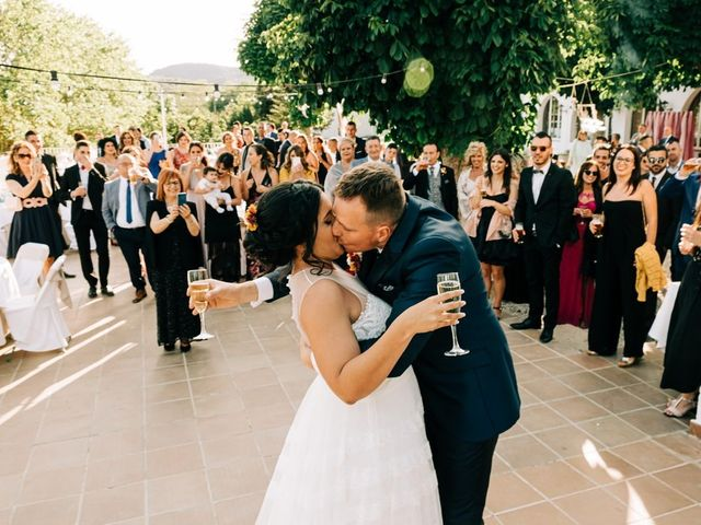 La boda de Dani y Alba en Sant Quirze Safaja, Barcelona 35