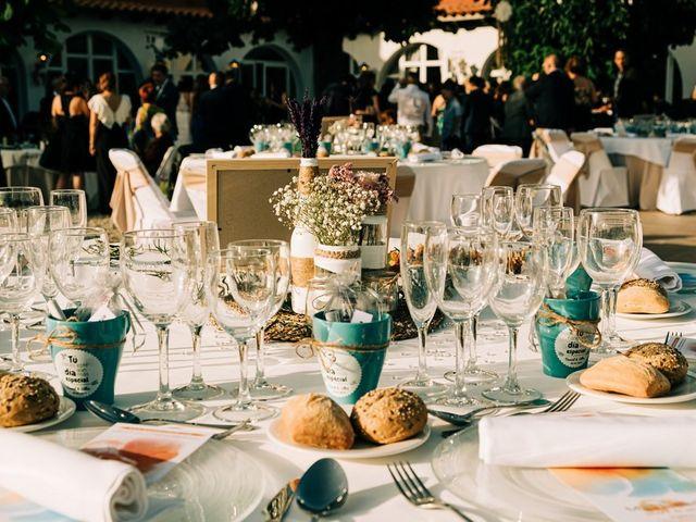 La boda de Dani y Alba en Sant Quirze Safaja, Barcelona 36