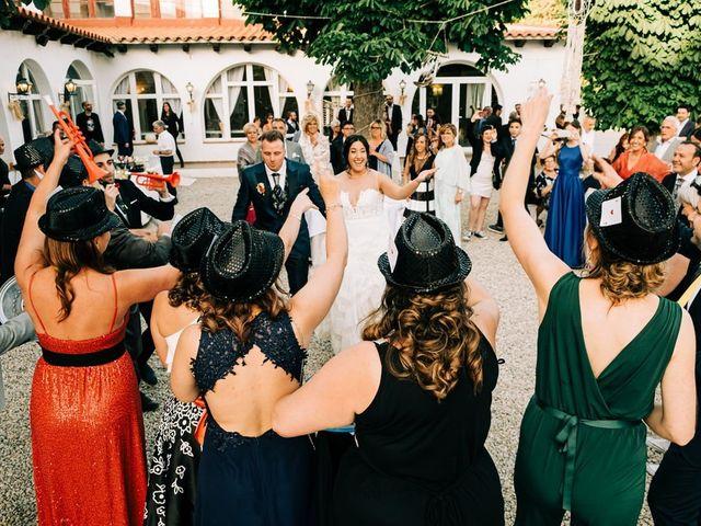 La boda de Dani y Alba en Sant Quirze Safaja, Barcelona 37