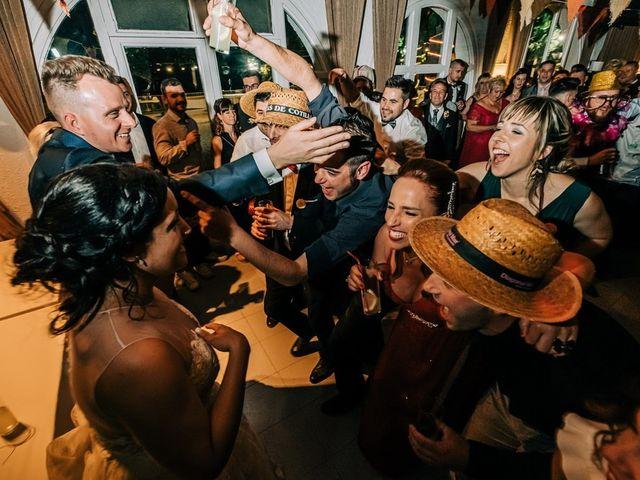 La boda de Dani y Alba en Sant Quirze Safaja, Barcelona 43