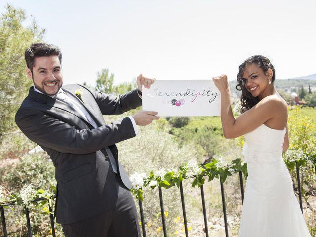 La boda de Aura y Manu