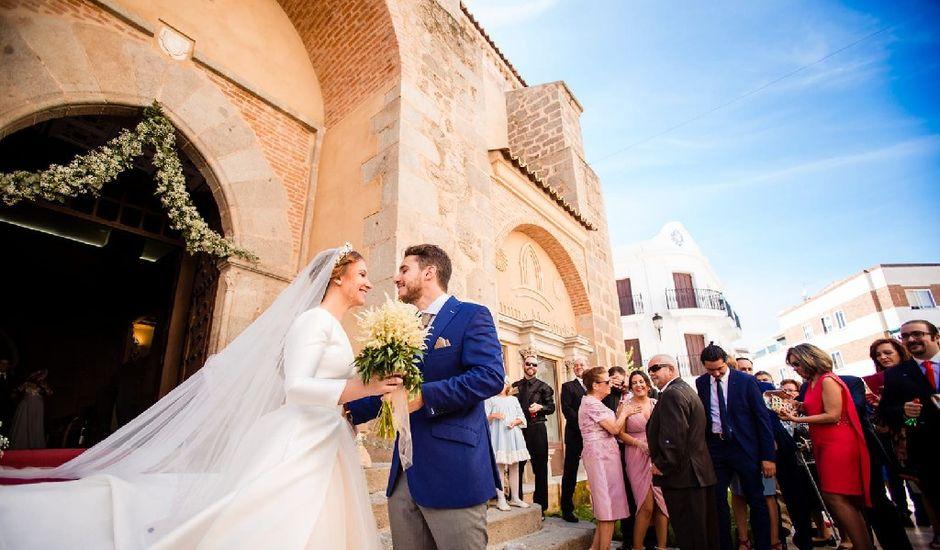La boda de Inés   y Paco  en Campanario, Badajoz