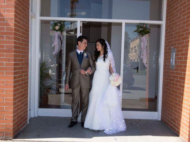 La boda de Ruben y Jennifer en Palau De Plegamans, Barcelona 12