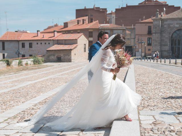 La boda de Antonio y Maria en Ávila, Ávila 43