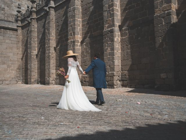 La boda de Antonio y Maria en Ávila, Ávila 58