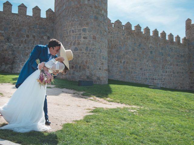 La boda de Antonio y Maria en Ávila, Ávila 66
