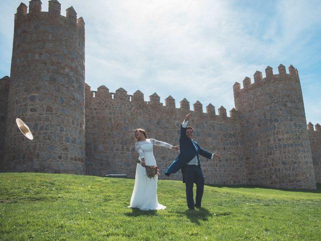 La boda de Antonio y Maria en Ávila, Ávila 67