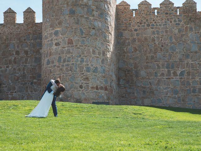 La boda de Antonio y Maria en Ávila, Ávila 69