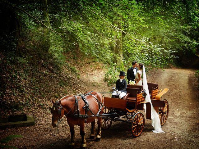 La boda de Cristian y Evelyn en Olot, Girona 1