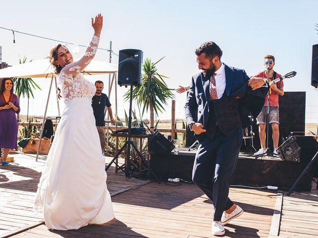 La boda de Manu y Araceli en El Palmar, Cádiz 55