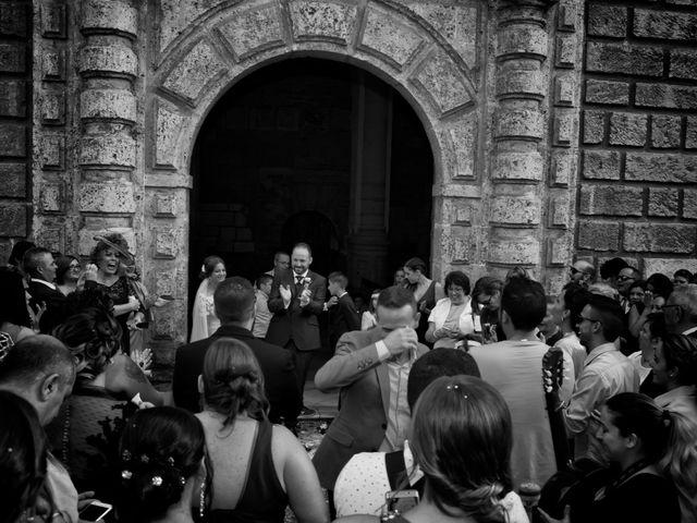 La boda de Rogelio y Mercedes en Venta Del Pobre, Almería 37