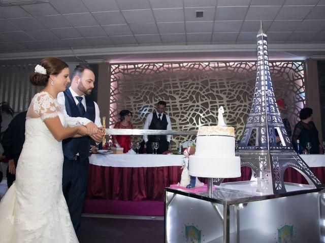 La boda de Rogelio y Mercedes en Venta Del Pobre, Almería 43