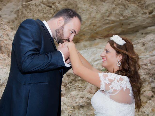 La boda de Rogelio y Mercedes en Venta Del Pobre, Almería 55