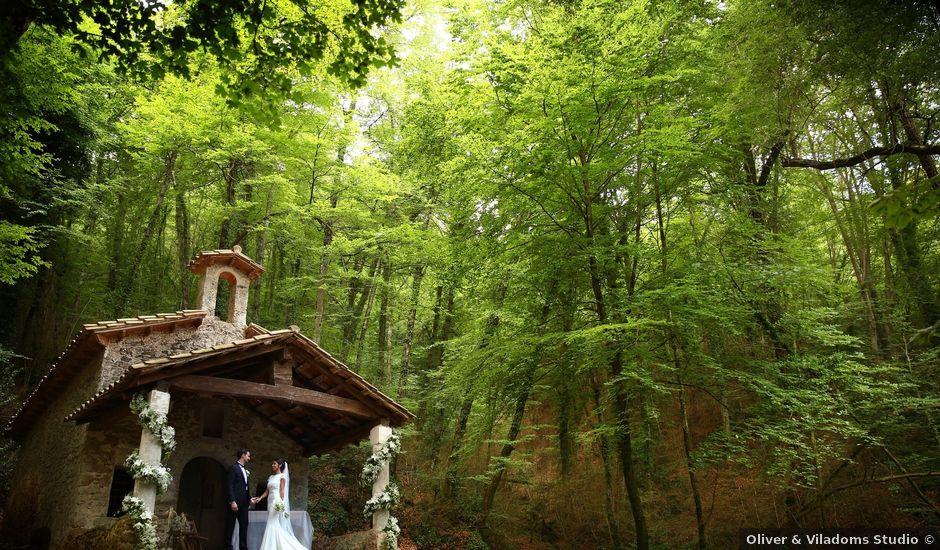 La boda de Cristian y Evelyn en Olot, Girona