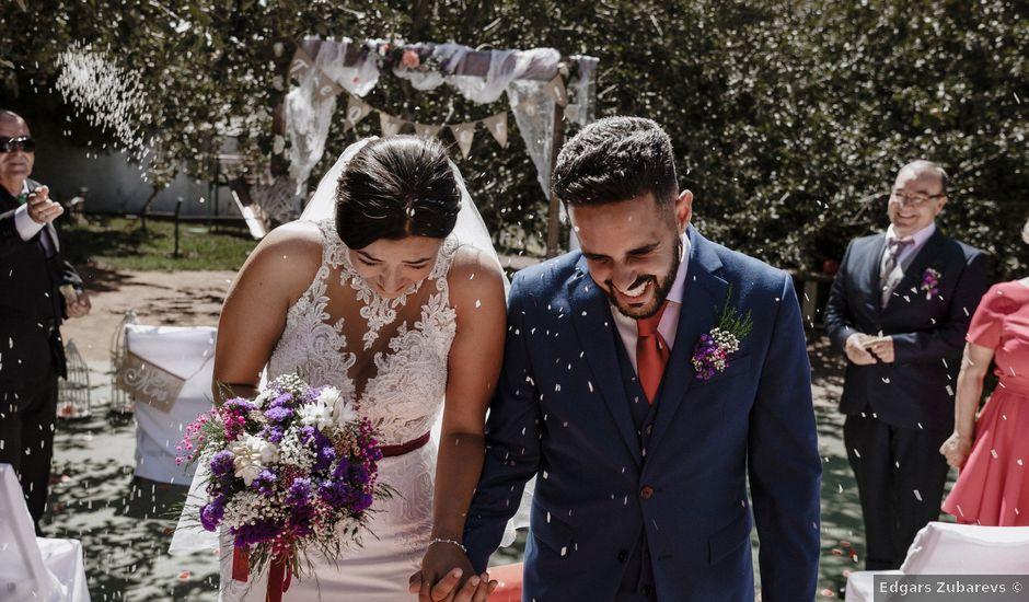 La boda de Ruben y Ruth en El Sauzal, Santa Cruz de Tenerife