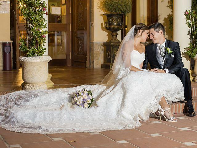 La boda de Borja y Cristina en Alhaurin El Grande, Málaga 12