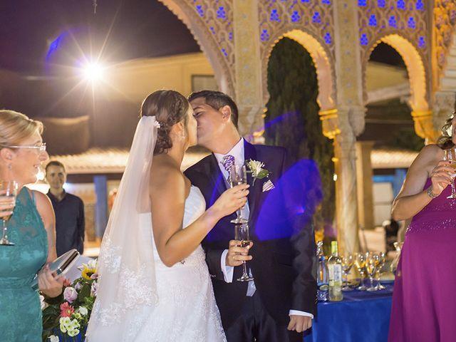 La boda de Borja y Cristina en Alhaurin El Grande, Málaga 16