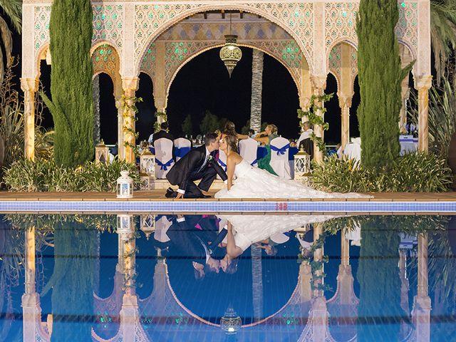 La boda de Borja y Cristina en Alhaurin El Grande, Málaga 17