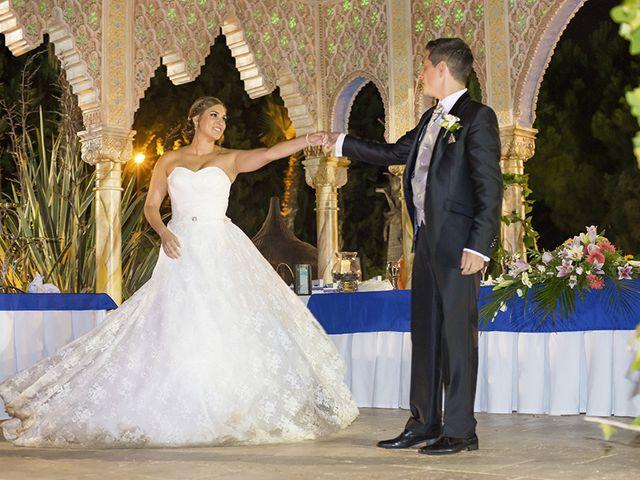 La boda de Borja y Cristina en Alhaurin El Grande, Málaga 18