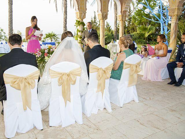 La boda de Borja y Cristina en Alhaurin El Grande, Málaga 7