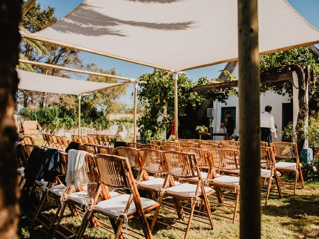 La boda de Alberto y Eleonora en El Palmar, Alicante 9