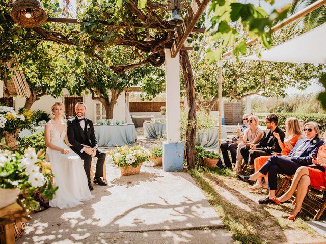 La boda de Alberto y Eleonora en El Palmar, Alicante 27