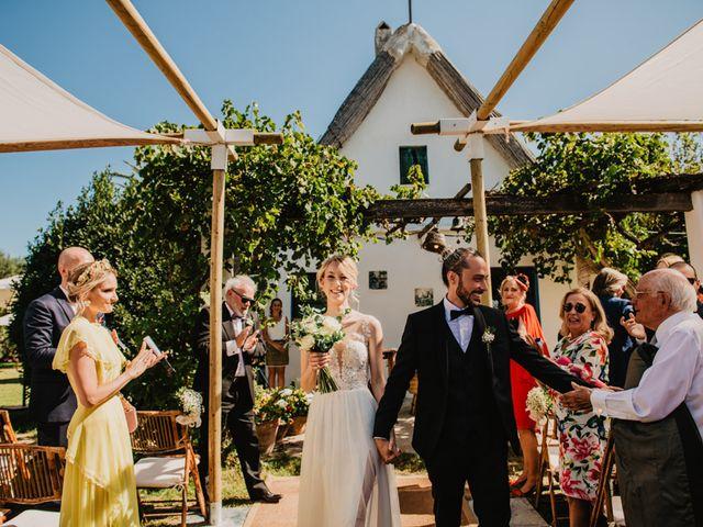 La boda de Alberto y Eleonora en El Palmar, Alicante 32