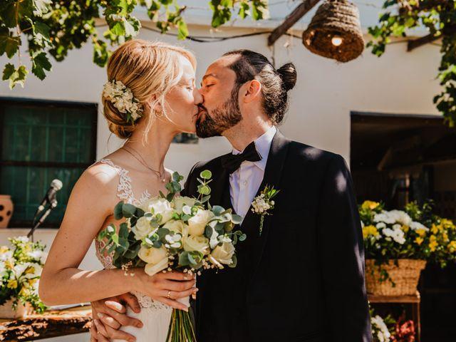 La boda de Alberto y Eleonora en El Palmar, Alicante 35