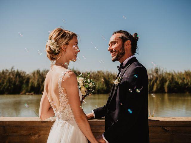 La boda de Alberto y Eleonora en El Palmar, Alicante 1