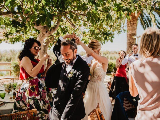 La boda de Alberto y Eleonora en El Palmar, Alicante 50