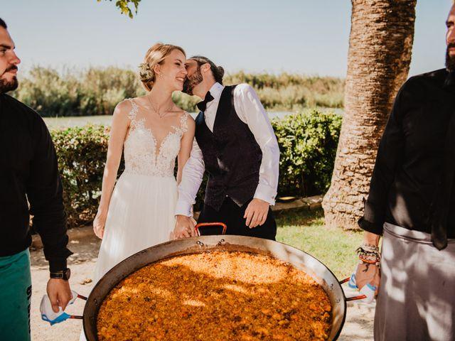 La boda de Alberto y Eleonora en El Palmar, Alicante 56